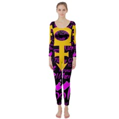 Prince Poster Long Sleeve Catsuit