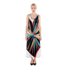 Above & Beyond Sleeveless Maxi Dress