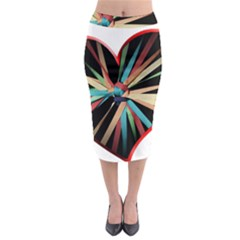 Above & Beyond Midi Pencil Skirt