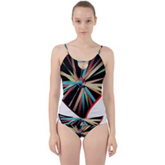 Above & Beyond Cut Out Top Tankini Set