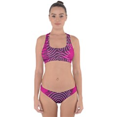 Above & Beyond Sticky Fingers Cross Back Hipster Bikini Set