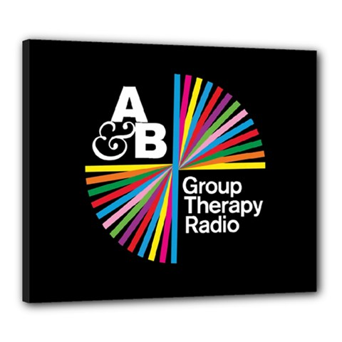 Above & Beyond  Group Therapy Radio Canvas 24  X 20