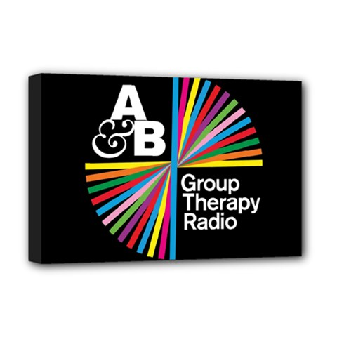 Above & Beyond  Group Therapy Radio Deluxe Canvas 18  X 12