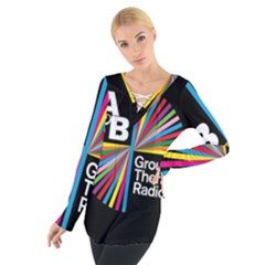 Above & Beyond  Group Therapy Radio Tie Up Tee