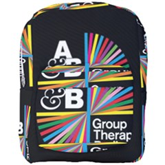 Above & Beyond  Group Therapy Radio Full Print Backpack