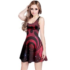 Bassnectar Galaxy Nebula Reversible Sleeveless Dress