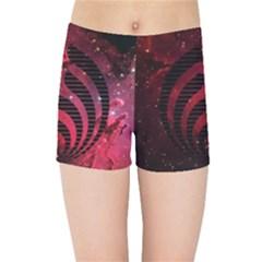 Bassnectar Galaxy Nebula Kids Sports Shorts
