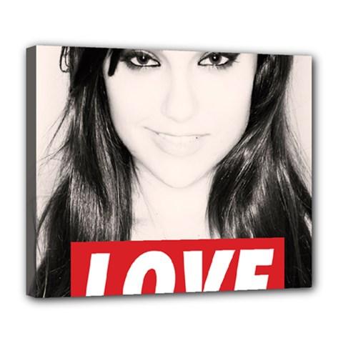 Sasha Grey Love Deluxe Canvas 24  X 20