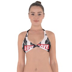Sasha Grey Love Halter Neck Bikini Top