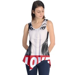Sasha Grey Love Sleeveless Tunic