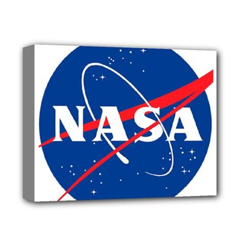 Nasa Logo Deluxe Canvas 14  X 11
