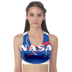 Nasa Logo Sports Bra