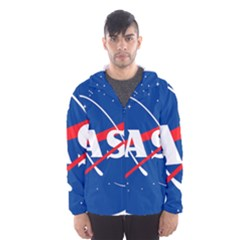 Nasa Logo Hooded Wind Breaker (men)
