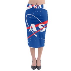 Nasa Logo Midi Pencil Skirt