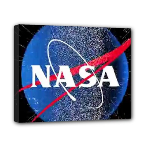 Nasa Logo Canvas 10  X 8