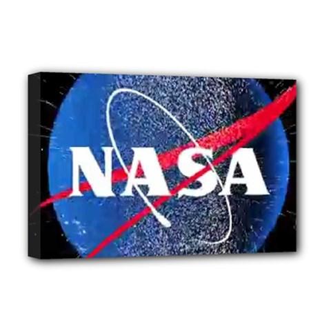 Nasa Logo Deluxe Canvas 18  X 12