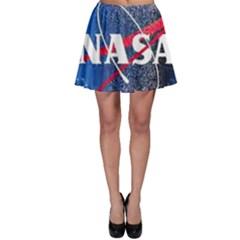 Nasa Logo Skater Skirt