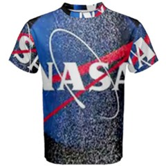 Nasa Logo Men s Cotton Tee