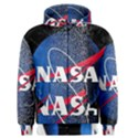 Nasa Logo Men s Zipper Hoodie View1
