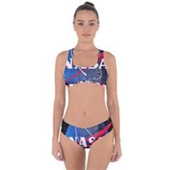 Nasa Logo Criss Cross Bikini Set