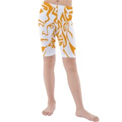 Michael Jackson Kids  Mid Length Swim Shorts