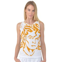 Michael Jackson Women s Basketball Tank Top