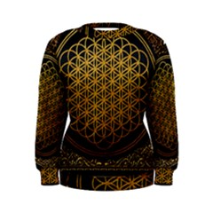 Bring Me The Horizon Cover Album Gold Women s Sweatshirt