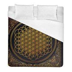 Bring Me The Horizon Cover Album Gold Duvet Cover (full/ Double Size)
