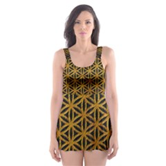 Bring Me The Horizon Cover Album Gold Skater Dress Swimsuit