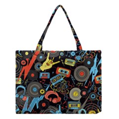 Music Pattern Medium Tote Bag