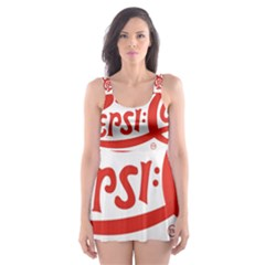 Pepsi Cola Skater Dress Swimsuit