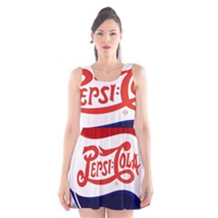 Pepsi Cola Scoop Neck Skater Dress