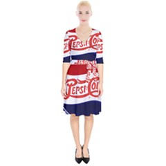 Pepsi Cola Wrap Up Cocktail Dress