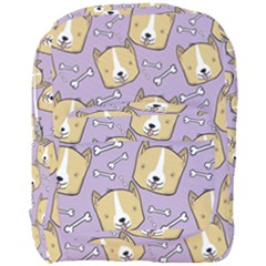 Corgi Pattern Full Print Backpack