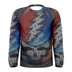 Grateful Dead Logo Men s Long Sleeve Tee