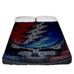 Grateful Dead Logo Fitted Sheet (california King Size)