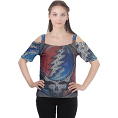 Grateful Dead Logo Cutout Shoulder Tee