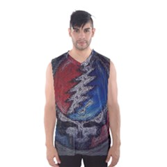Grateful Dead Logo Men s Basketball Tank Top