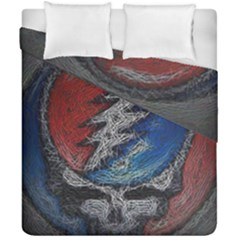 Grateful Dead Logo Duvet Cover Double Side (california King Size)