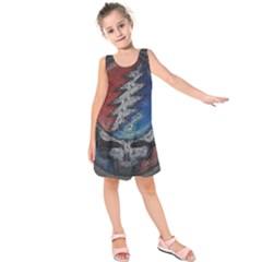 Grateful Dead Logo Kids  Sleeveless Dress