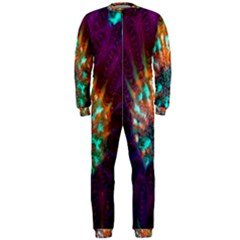 Live Green Brain Goniastrea Underwater Corals Consist Small Onepiece Jumpsuit (men)