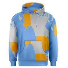 Map Transform World Men s Pullover Hoodie