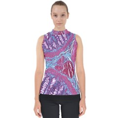 Natural Stone Red Blue Space Explore Medical Illustration Alternative Shell Top