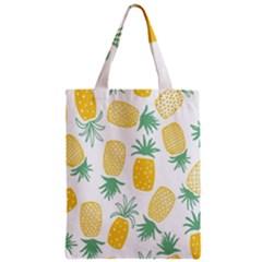 Pineapple Fruite Seamless Pattern Zipper Classic Tote Bag