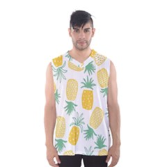 Pineapple Fruite Seamless Pattern Men s Basketball Tank Top