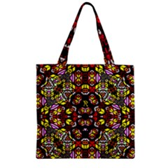 Queen Design 456 Zipper Grocery Tote Bag