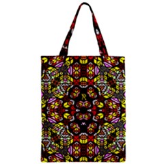 Queen Design 456 Zipper Classic Tote Bag