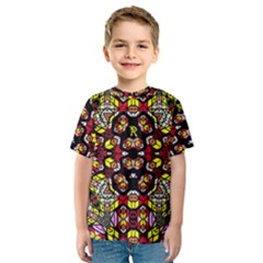 Queen Design 456 Kids  Sport Mesh Tee