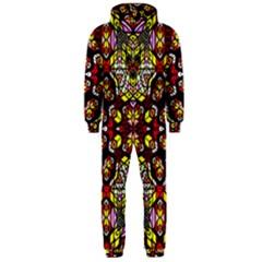 Queen Design 456 Hooded Jumpsuit (men)