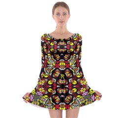 Queen Design 456 Long Sleeve Skater Dress